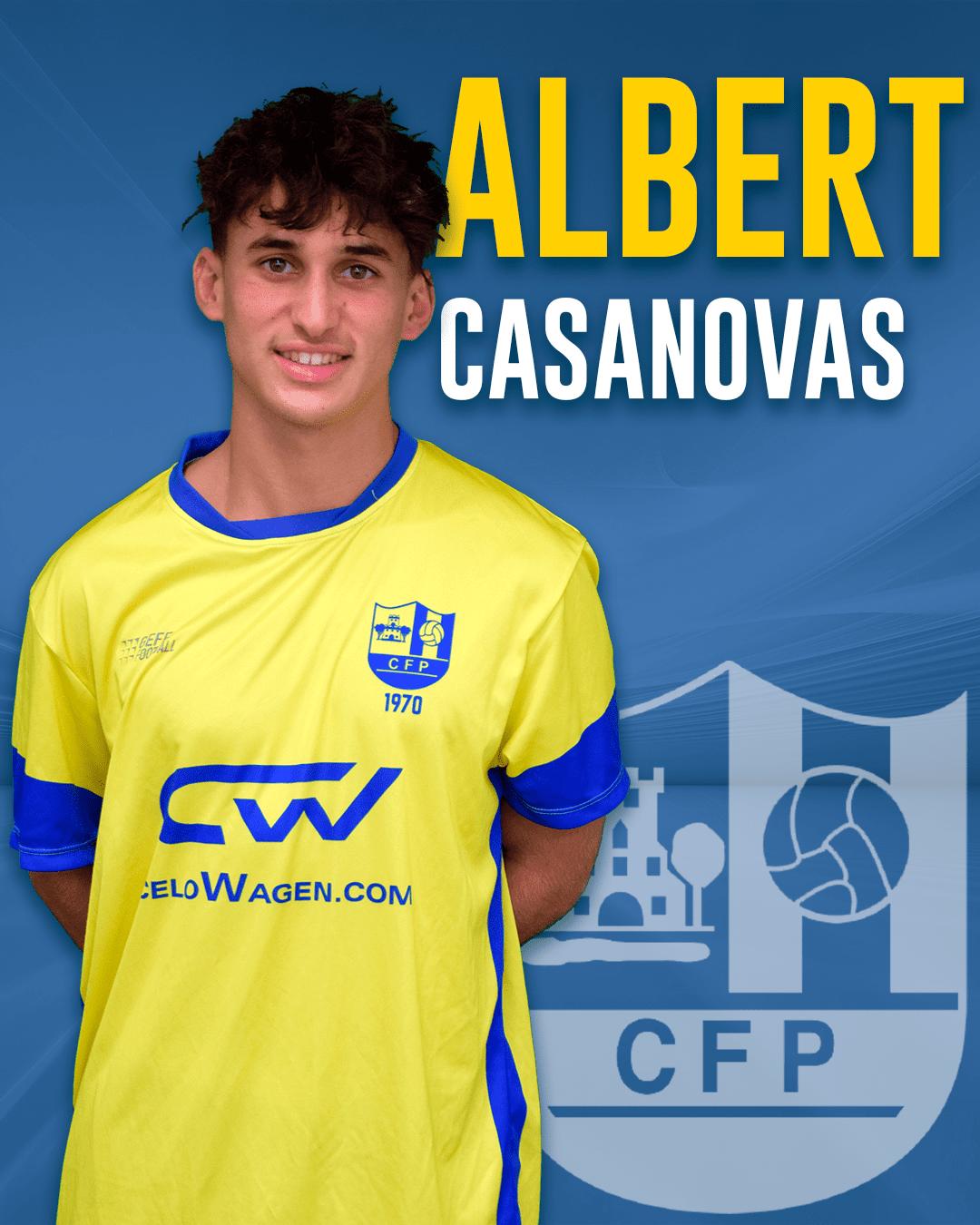 Albert Casanovas - Jugador del 1r equip masculí