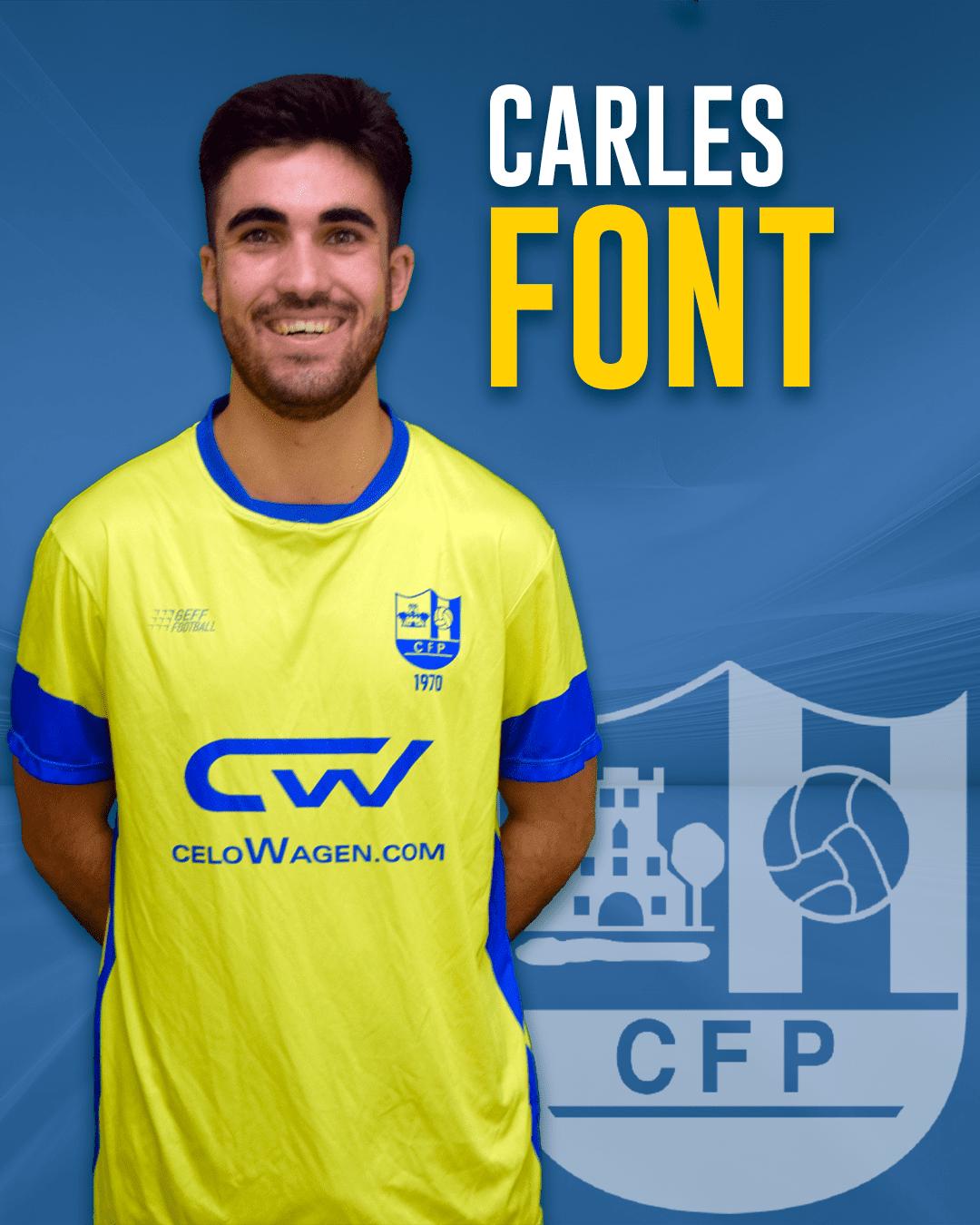 Carles Font - Jugador del 1r equip masculí