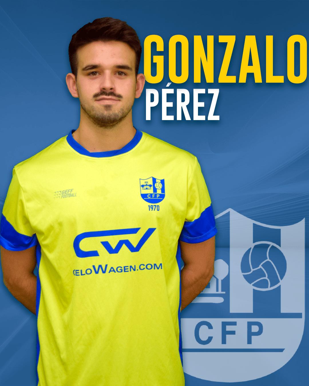 Gonzalo Pérez - Jugador del 1r equip masculí