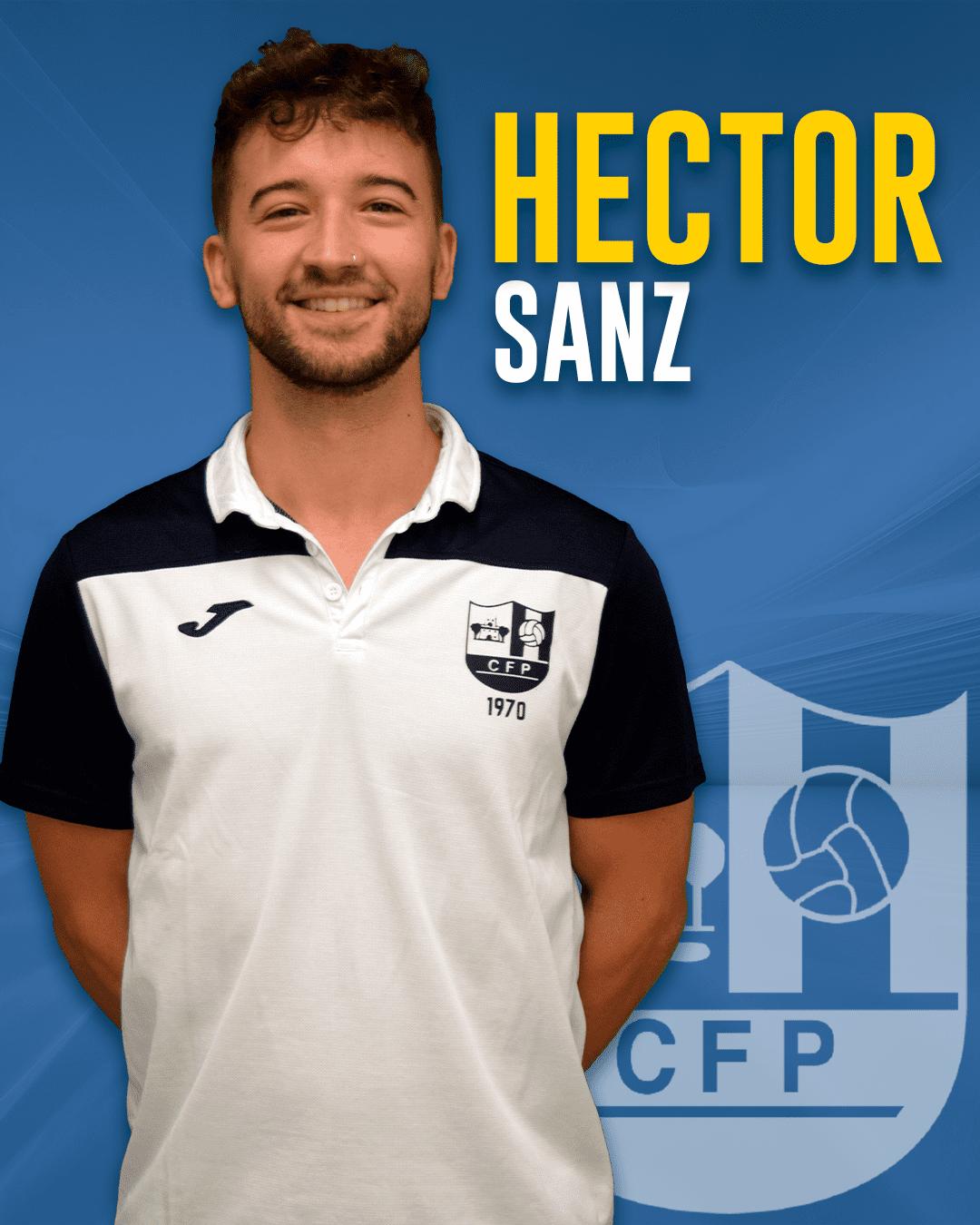 Héctor Sanz - Jugador del 1r equip masculí