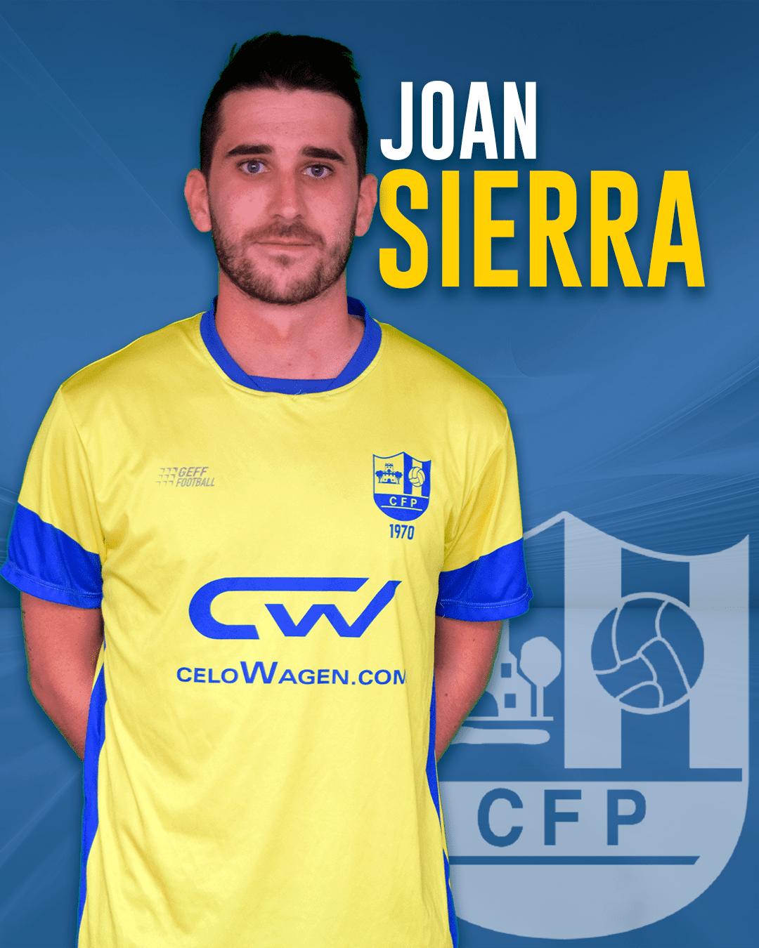 Joan Sierra - Jugador del 1r equip masculí