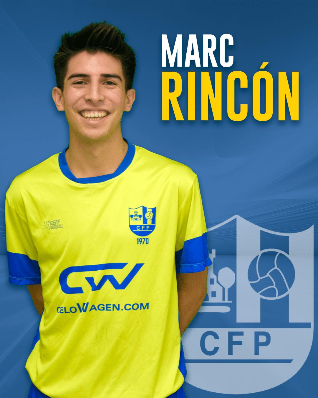 Marc Rincón - Jugador del 1r equip masculí