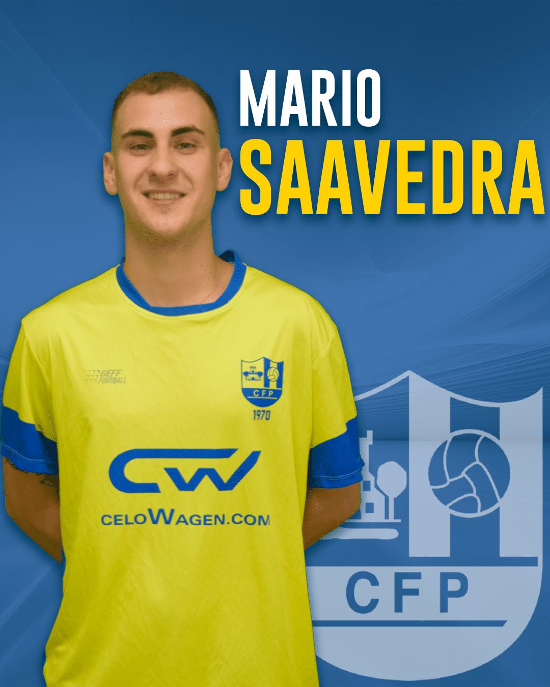 Mario Saavedra - Jugador del 1r equip masculí