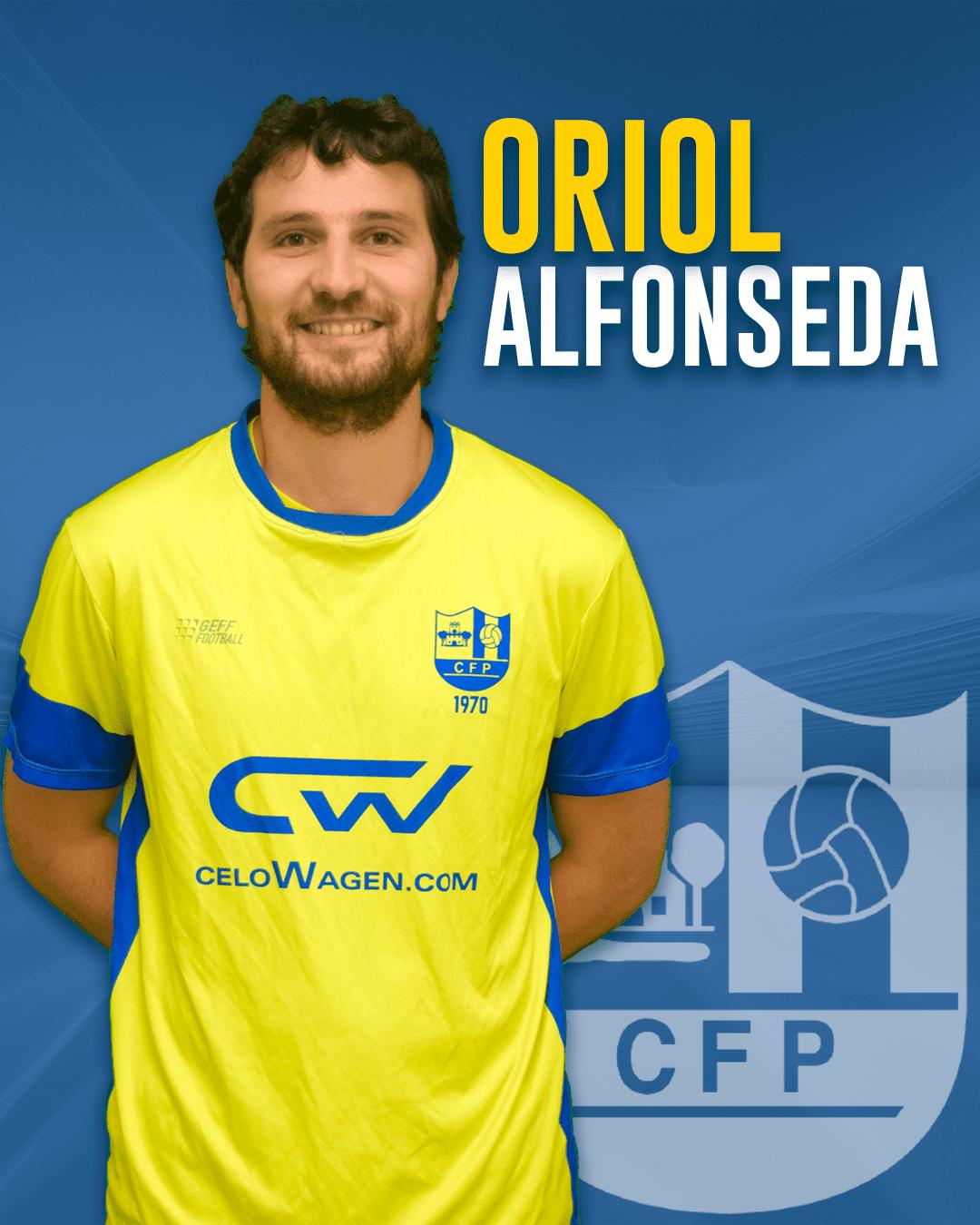 Oriol Alfonseda - Jugador del 1r equip masculí