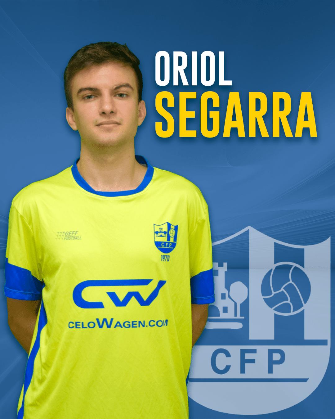 Oriol Segarra - Jugador del 1r equip masculí