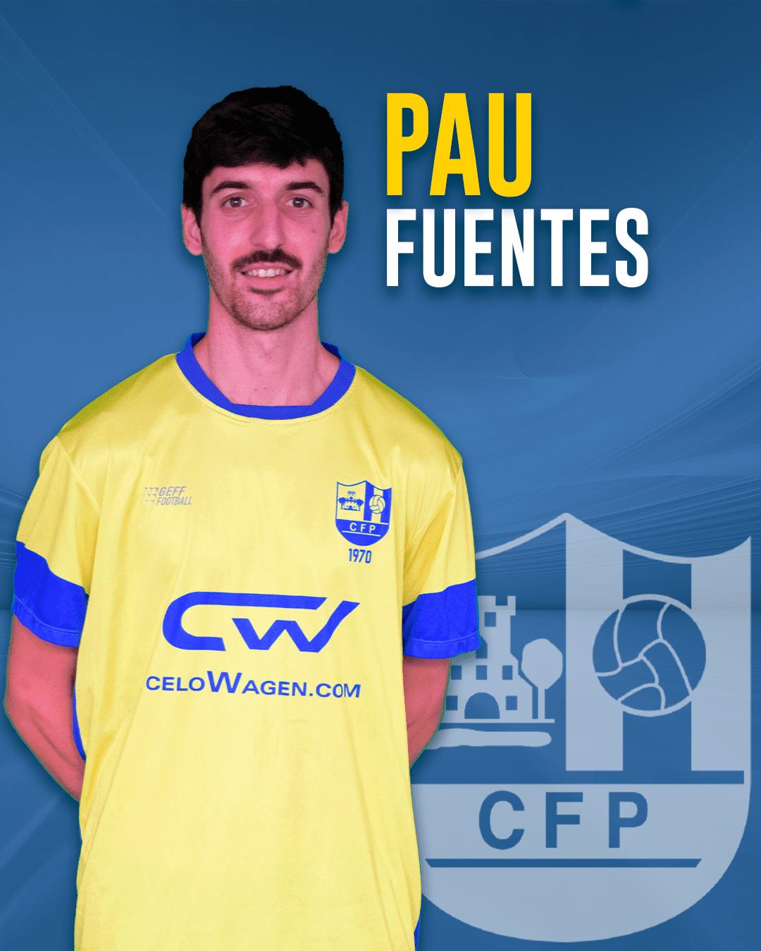 Pau Fuentes - Jugador del 1r equip masculí