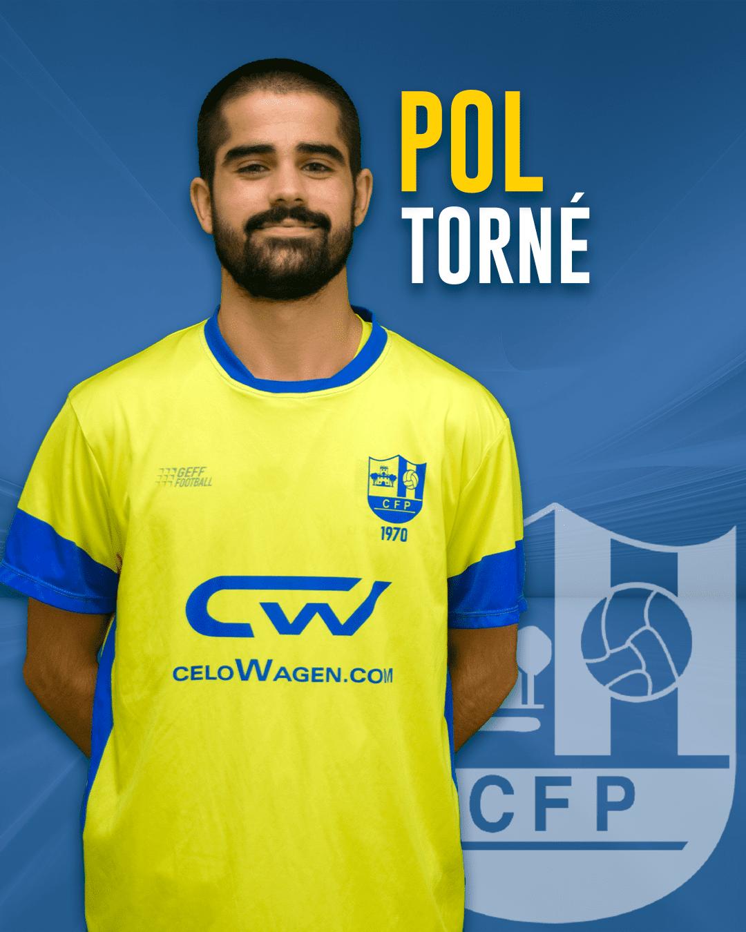 Pol Torné - Jugador del 1r equip masculí