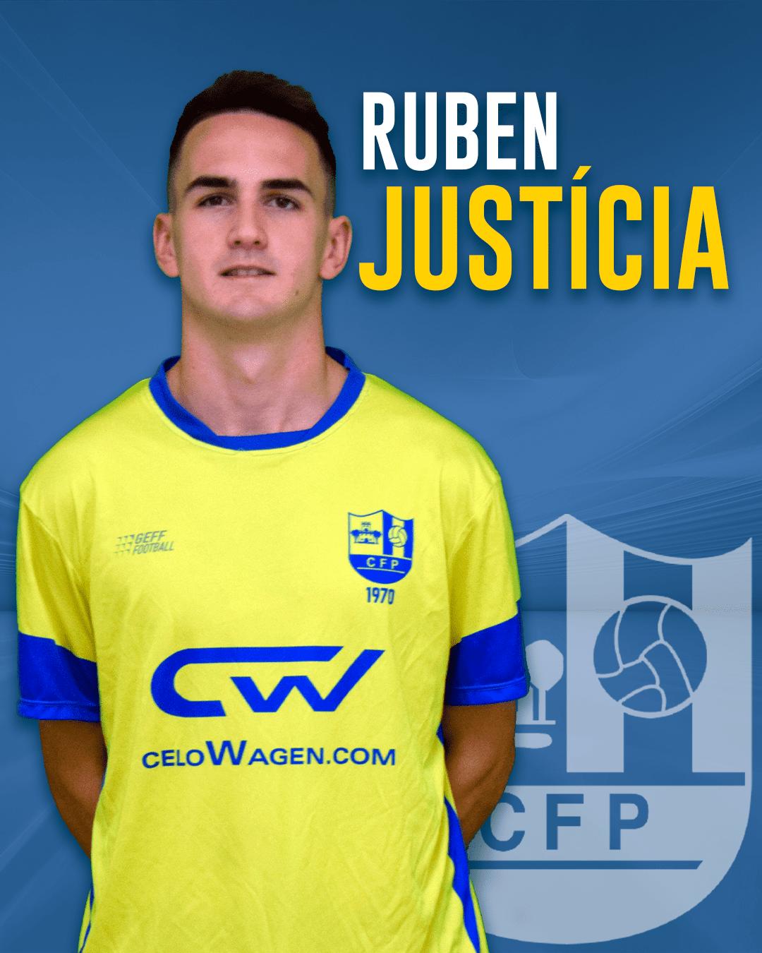 Rubén Justícia - Jugador del 1r equip masculí