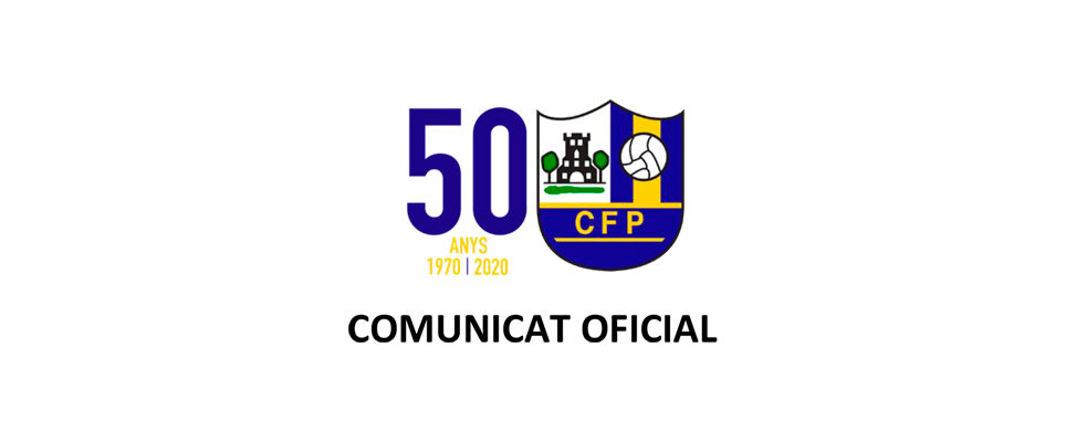 Comunicat oficial del Club